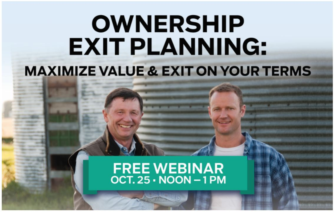 Ownership Exit Planning: Maximize Value & Exit on Your Terms