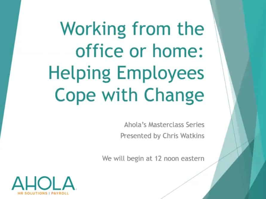 Strategies to Help Employees Cope with Change