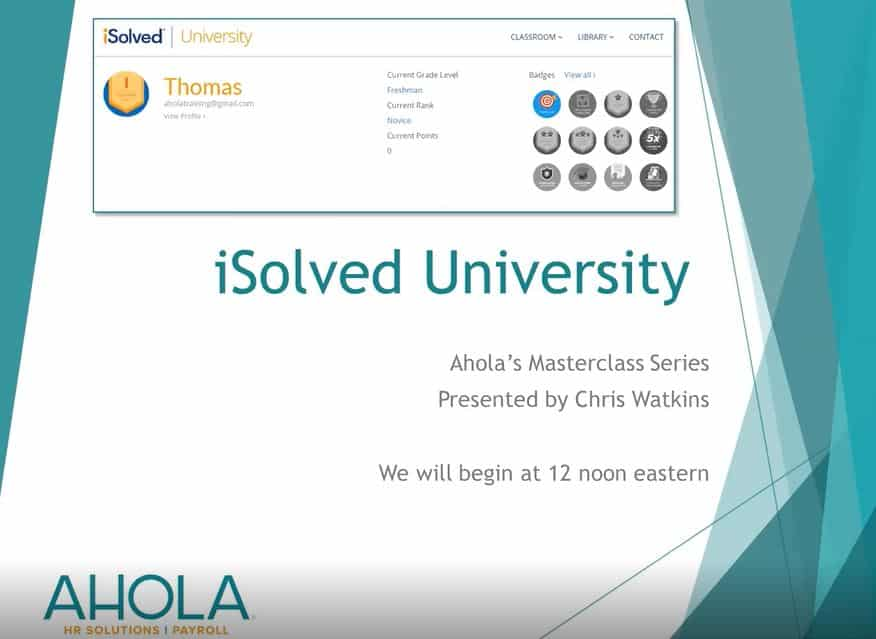 iSolved University