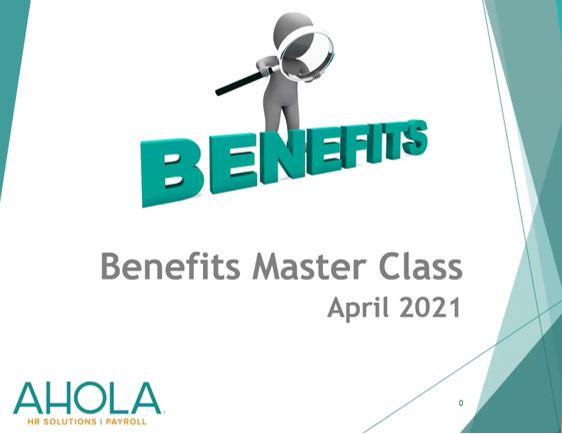 Benefits Masterclass